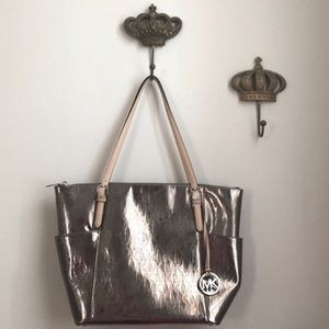Pewter MICHAEL by Michael Kors Tote